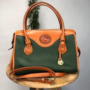 Vintage Dooney & Bourke Green Bag